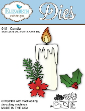 *XMAS* Elizabeth Craft Designs - Candle