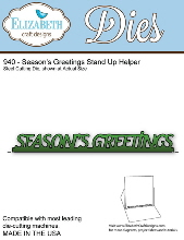 *XMAS* Elizabeth Craft Designs - Season's Greetings Stand Up Helper