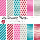 My Favorite Things - Painted Prints Smitten 6 x 6 Paper Pack