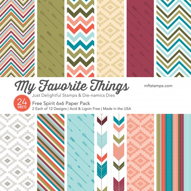 My Favorite Things - Free Spirit 6 x 6 Paper Pack