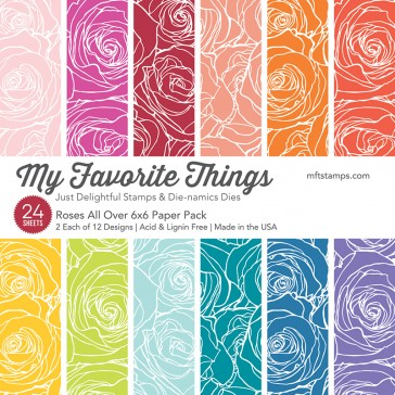 My Favorite Things - Roses All Over 6 x 6 Paper Pack