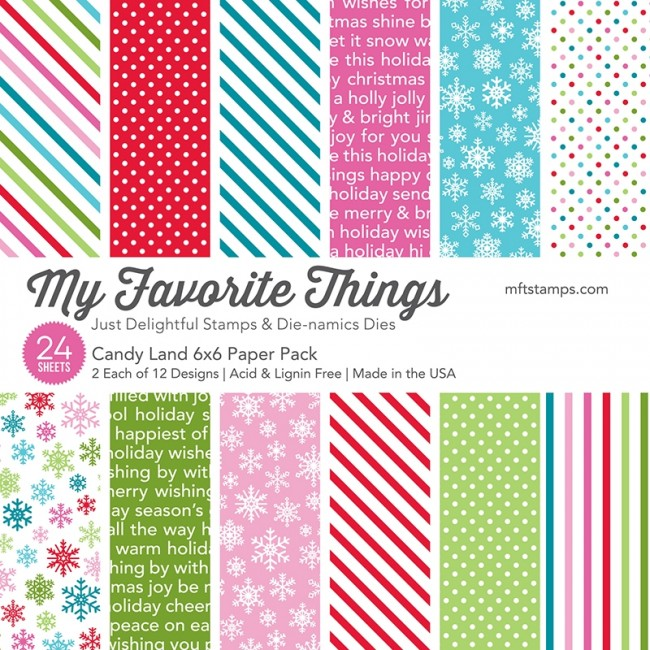 *NEW* - My Favorite Things - Candy Land Paper Pack