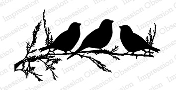 *NEW* - Impression Obsession- Birds on a Branch