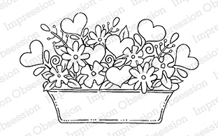 *NEW* - Impression Obsession- Heart Basket