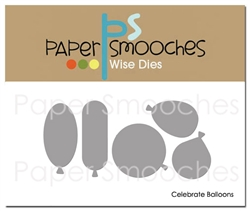 ##Paper Smooches - Celebrate Balloons Dies