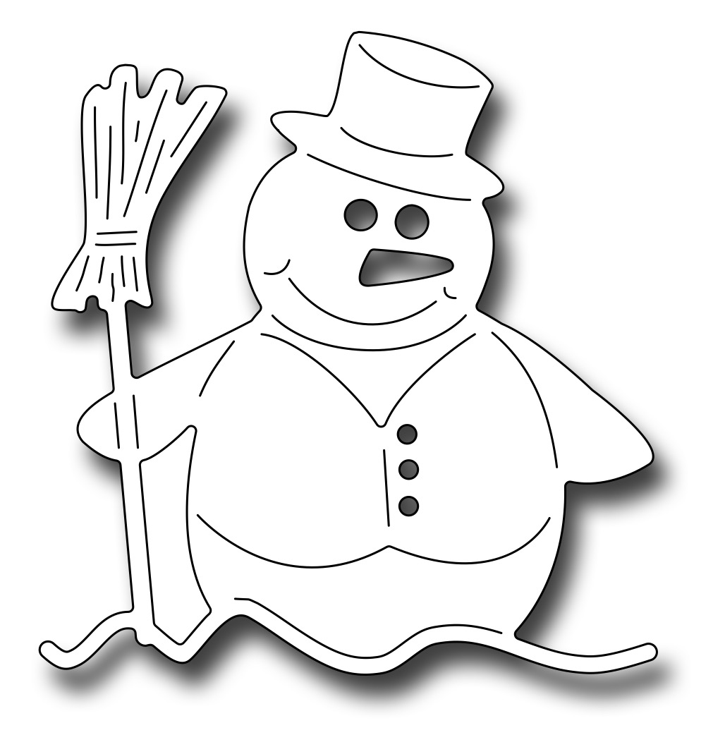 *NEW* - Frantic Stamper - Precision Die - Edward The Snowman