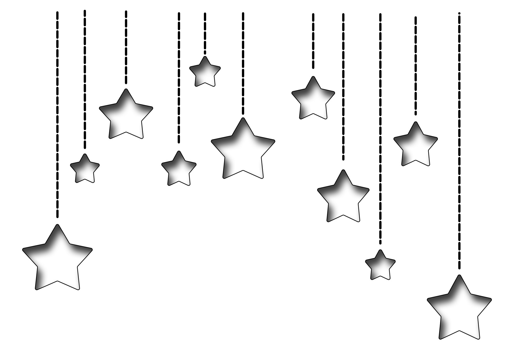 *NEW* - Frantic Stamper Precision Die - Dangling Stars