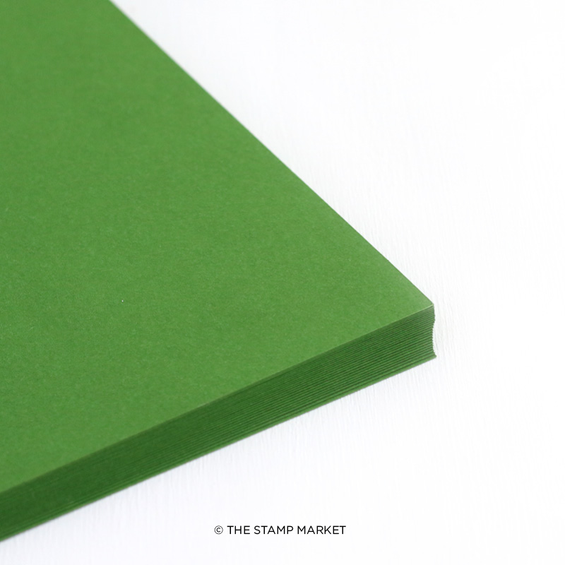 The Stamp Market - Greenery - Cardstock - 5 sheets