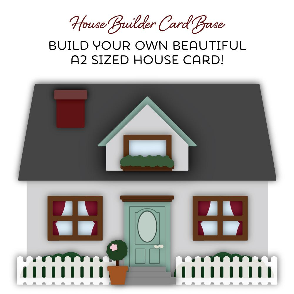 Honey Bee - House Builder Card Base | Honey Cuts
