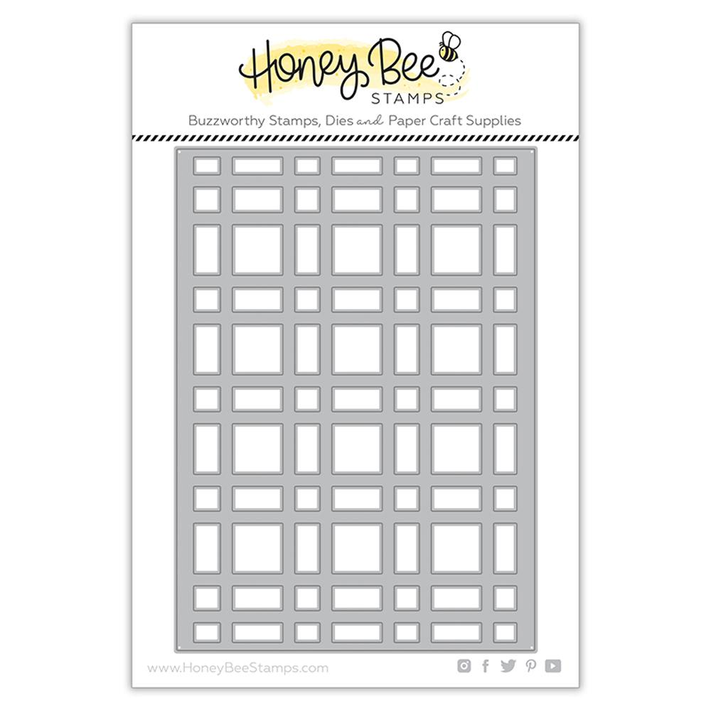 *NEW* - Honey Bee - Plaid A7 Cover Plate - Base | Honey Cuts
