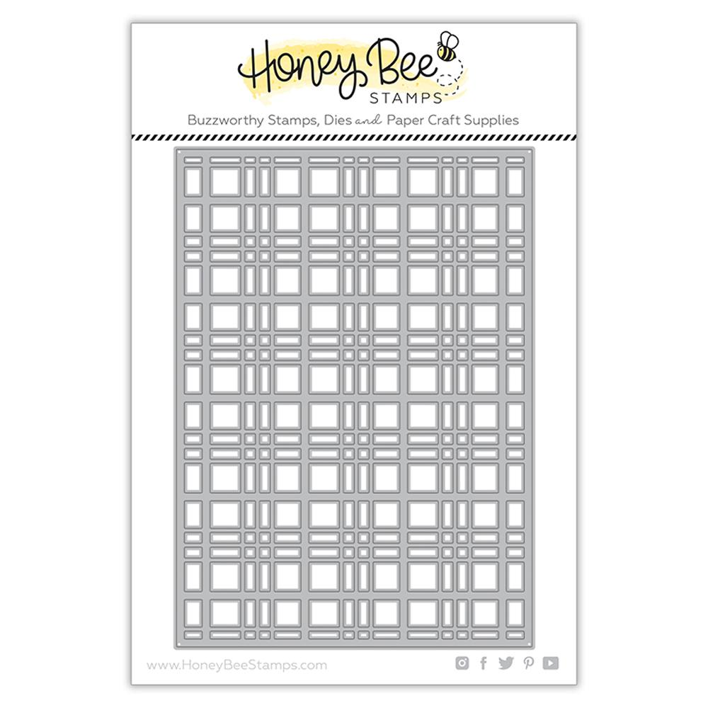 *NEW* - Honey Bee - Plaid A7 Cover Plate - Top | Honey Cuts