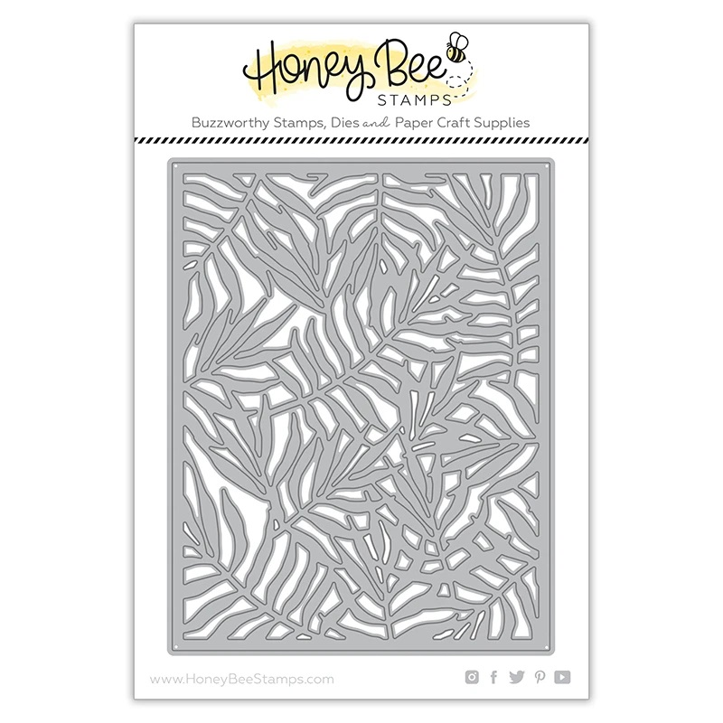 Honey Bee - Palm Frond Cover Plate | Honey Cuts