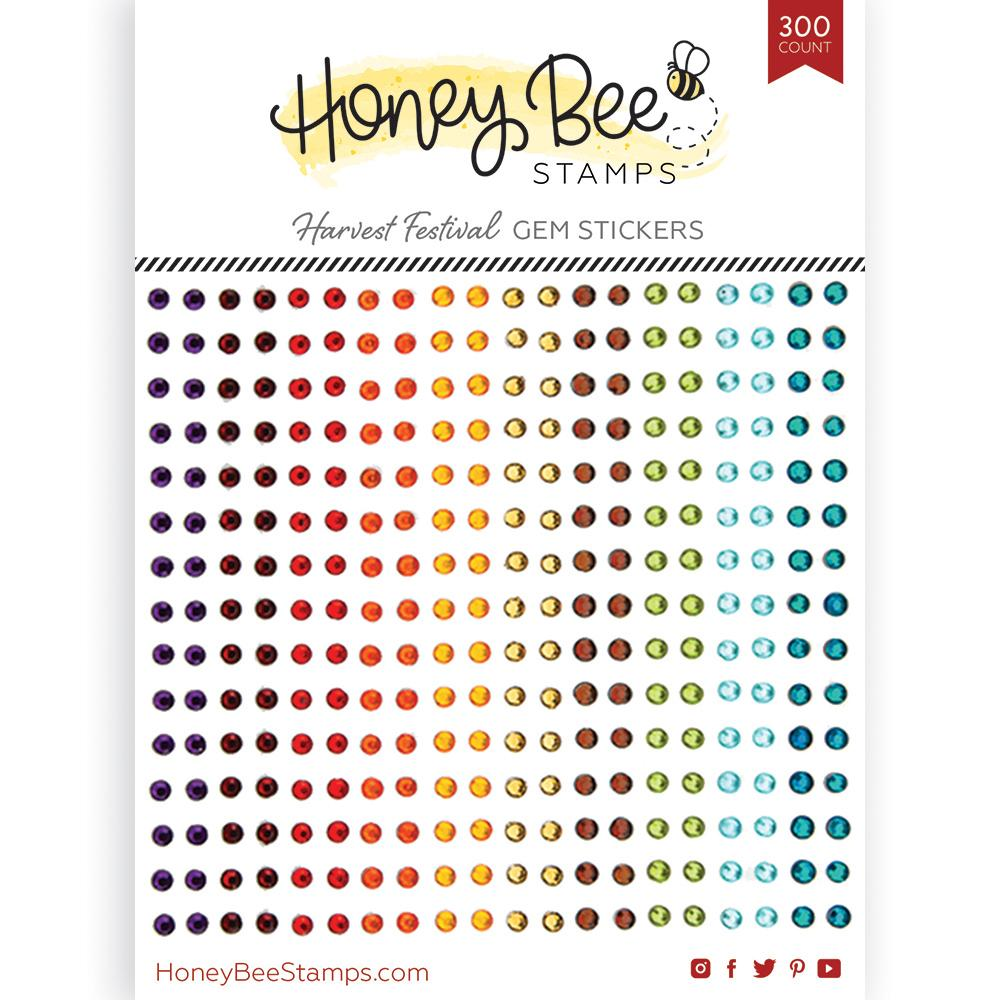 *NEW* - Honey Bee - Harvest Festival Gem Stickers | 300 Count