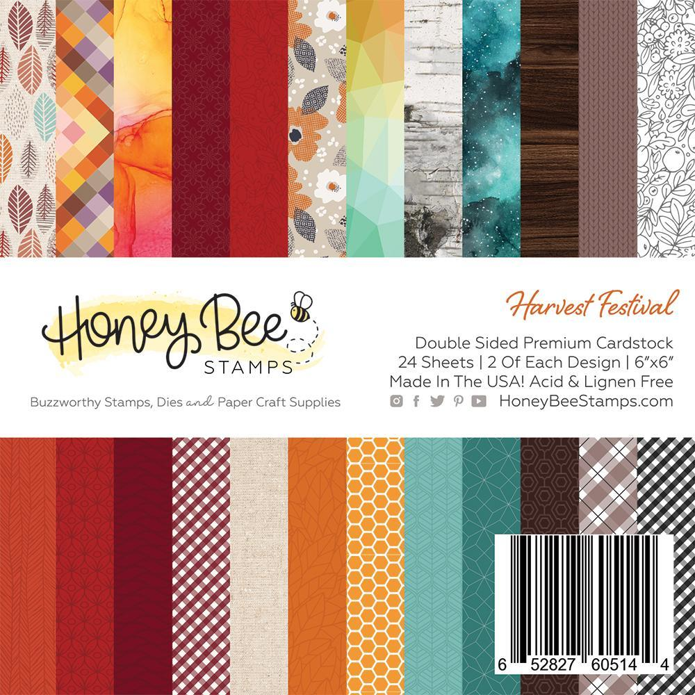 *NEW* - Honey Bee - Harvest Festival | 6x6 Paper Pad | 24 Double Sided Sheets
