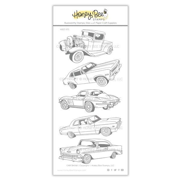 *NEW* - Honey Bee - Car Show | 4x8 Stamp Set
