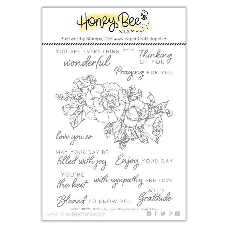 Honey Bee - Everything Wonderful | 6x8 Stamp Set
