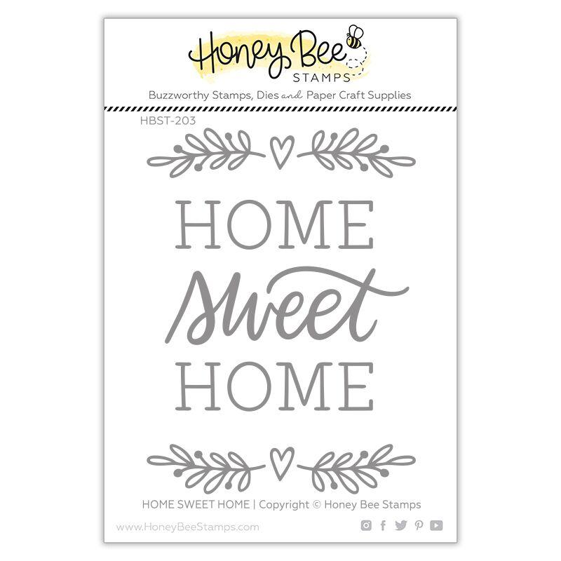 *NEW* - Honey Bee - Home, Sweet Home | 3x4 Stamp Set