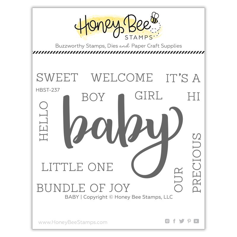 Honey Bee - Baby | 3x4 Stamp Set