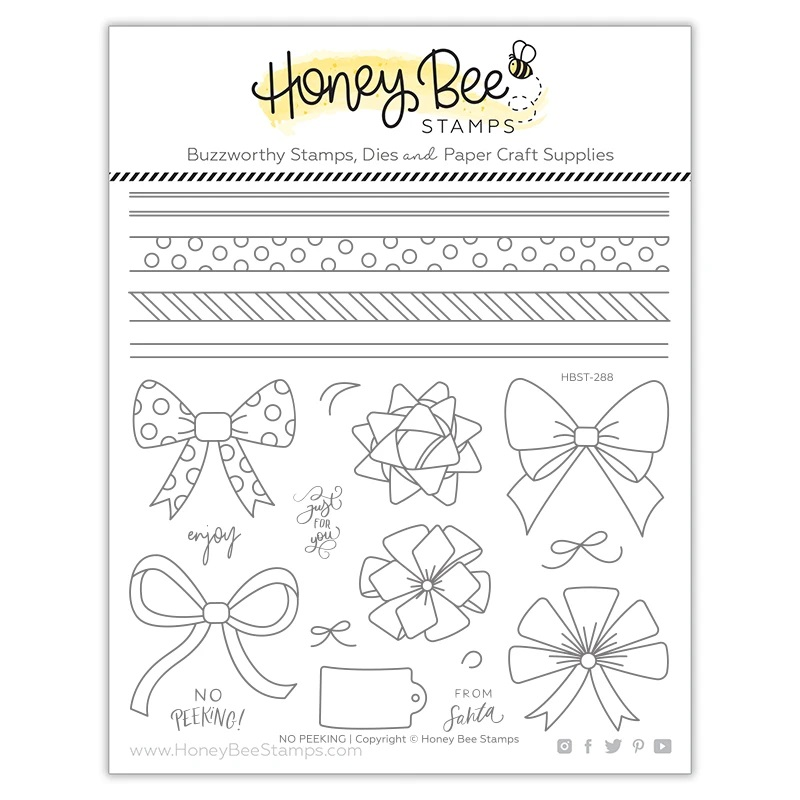*NEW* - Honey Bee - No Peeking | 6x6 Stamp Set