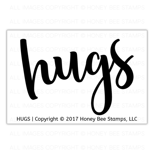 *NEW* - Honey Bee Stamps - Hugs | 2x3 Stamp Set