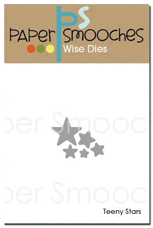 *NEW* - Paper Smooches - Teeny Stars Dies