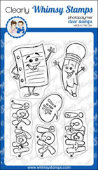 * Whimsy Stamps - Just a Note - Krista Heij-Barber
