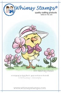 Whimsy Stamps - Spring Chick - Krista Heij-Barber