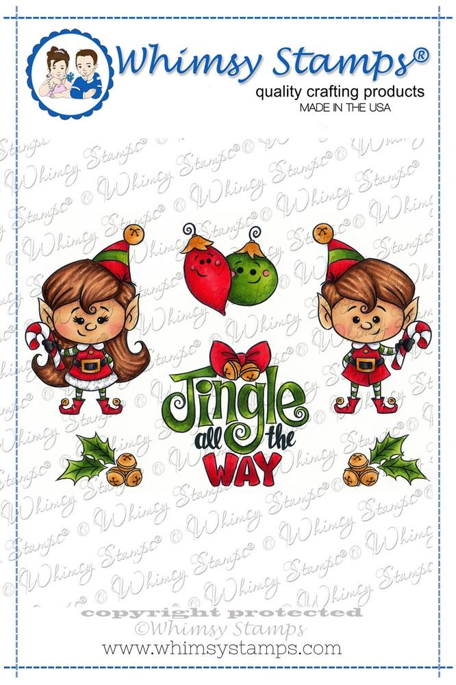 *NEW* - Whimsy Stamps - Jingle All the Way
