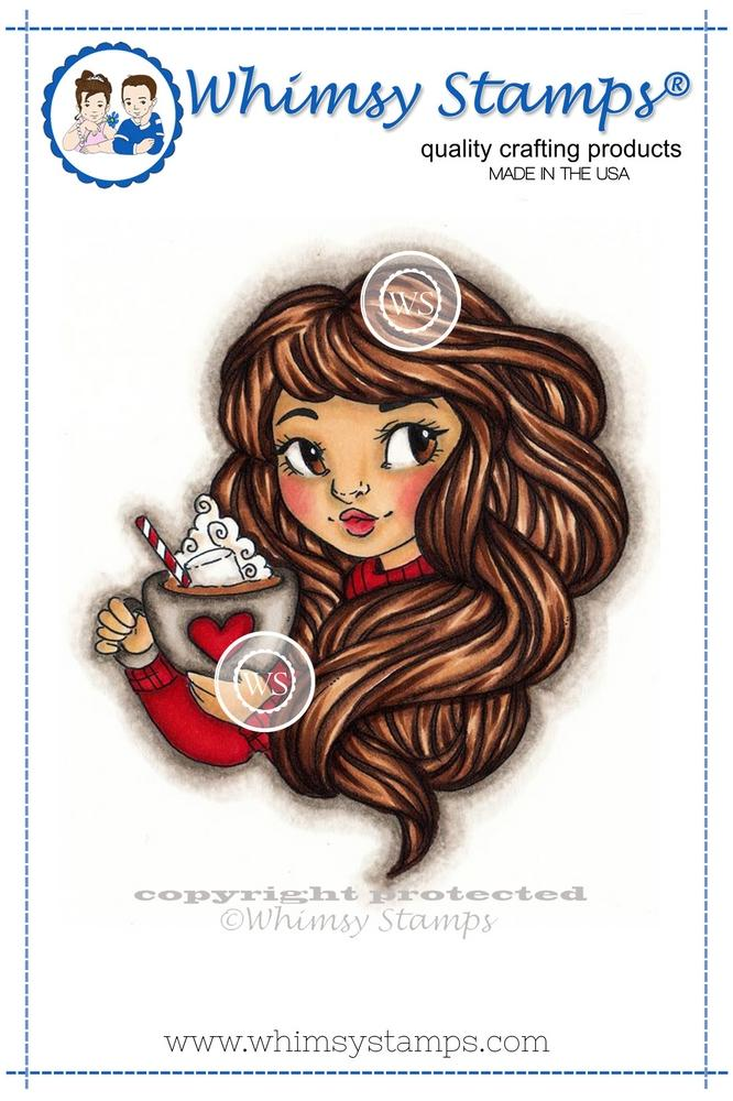 Whimsy Stamps - Hot Chocolate Honey