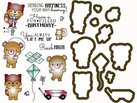 *NEW* - LDRS Creative - Outdoor Play - Stamps & Dies