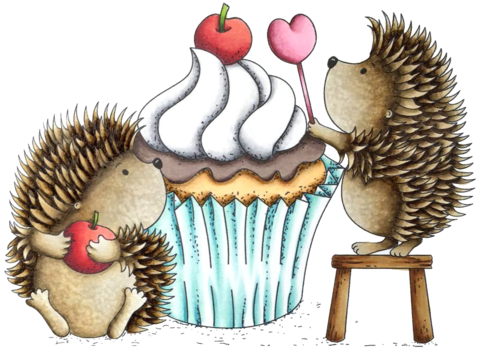 *NEW* - LDRS Creative - Happiness is a Cupcake