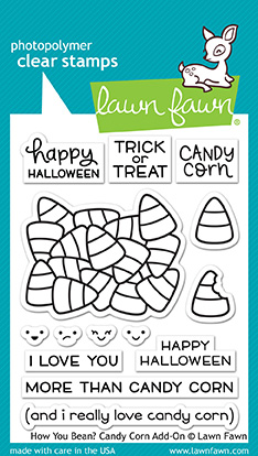 * NEW * - Lawn Fawn - how you bean? candy corn add-on