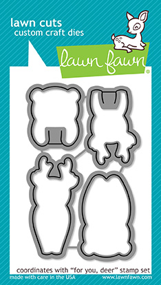 * NEW * - Lawn Fawn - for you, deer lawn cuts