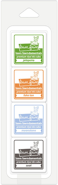 * NEW * - Lawn Fawn - pumpkin patch ink cube pack