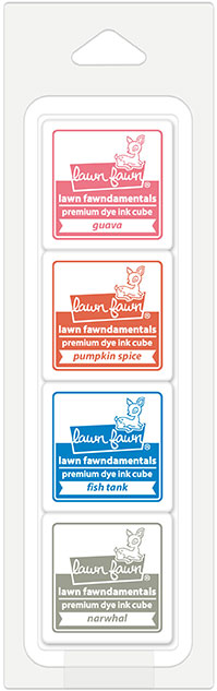 * NEW * - Lawn Fawn - front porch ink cube pack