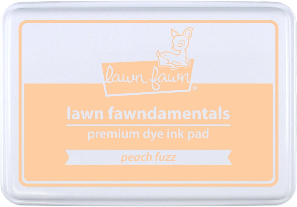 *NEW* - Lawn Fawn - peach fuzz ink pad