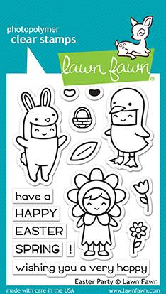 *NEW* - Lawn Fawn - easter party