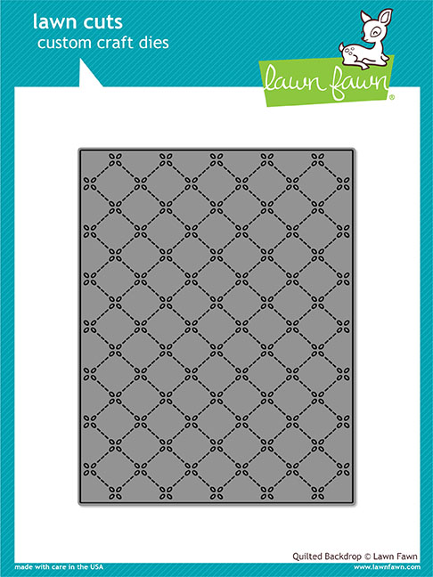 Lawn Fawn - quilted backdrop