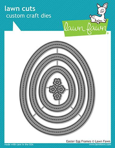*NEW* - Lawn Fawn - easter egg frames