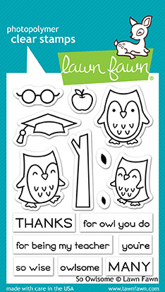 *NEW* - Lawn Fawn - so owlsome