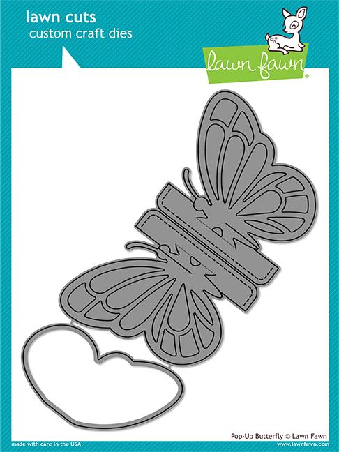 *NEW* - Lawn Fawn - pop-up butterfly