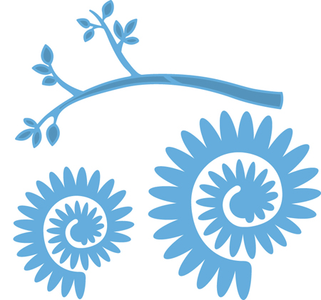 Marianne Design Creatables Stencil - Branch and Flower 2