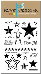 Paper Smooches - STAMPS - Seeing Stars