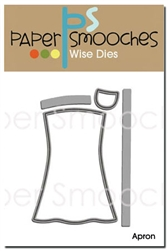 ##Paper Smooches - DIES - Apron