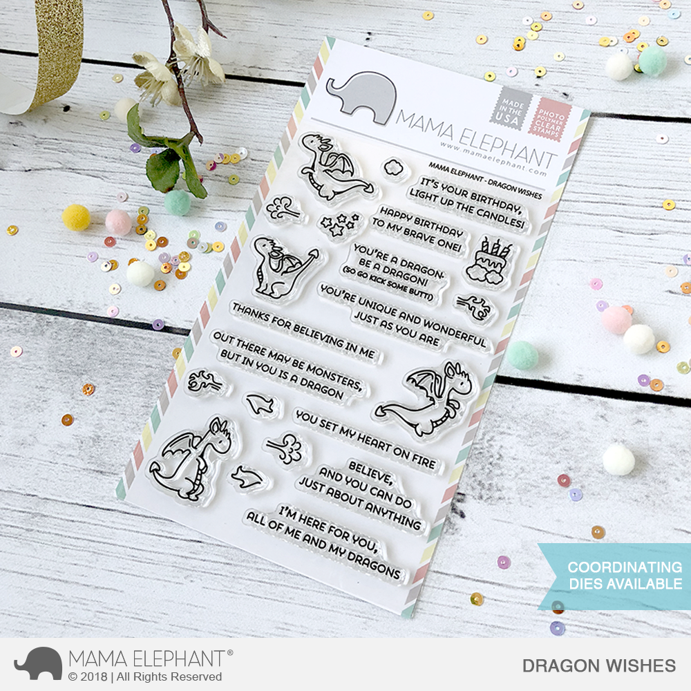 *NEW* - Mama Elephant - DRAGON WISHES