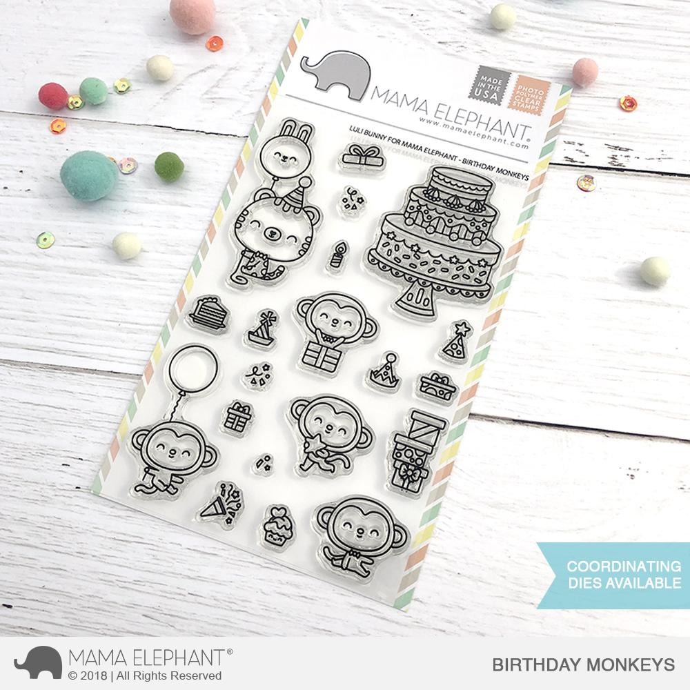 Mama Elephant - BIRTHDAY MONKEYS