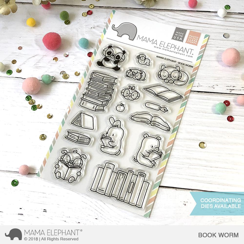 *NEW* - Mama Elephant - BOOK WORM