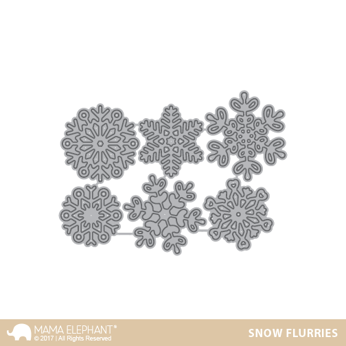 *NEW* - Mama Elephant - Snow Flurries