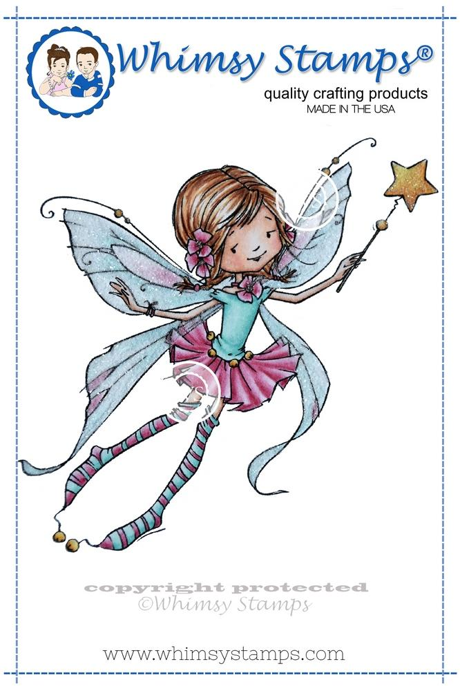 Whimsy Stamps - Fairy Wishes