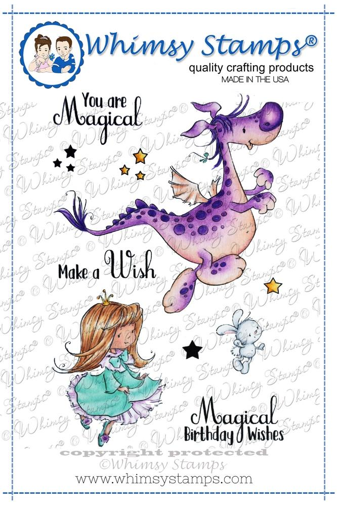 *NEW* - Whimsy Stamps - Norbert and Fiona Playtime